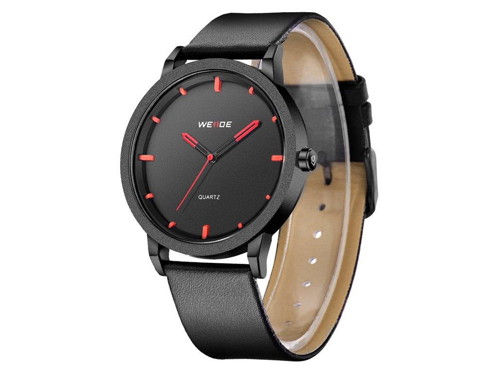 pánské sportovní hodinky weide wd 001 b červené red (2)
