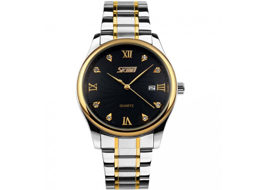 2b6cc135a Pánské hodinky Skmei 9101 černé + 100% skladem + náramek zdarma ...