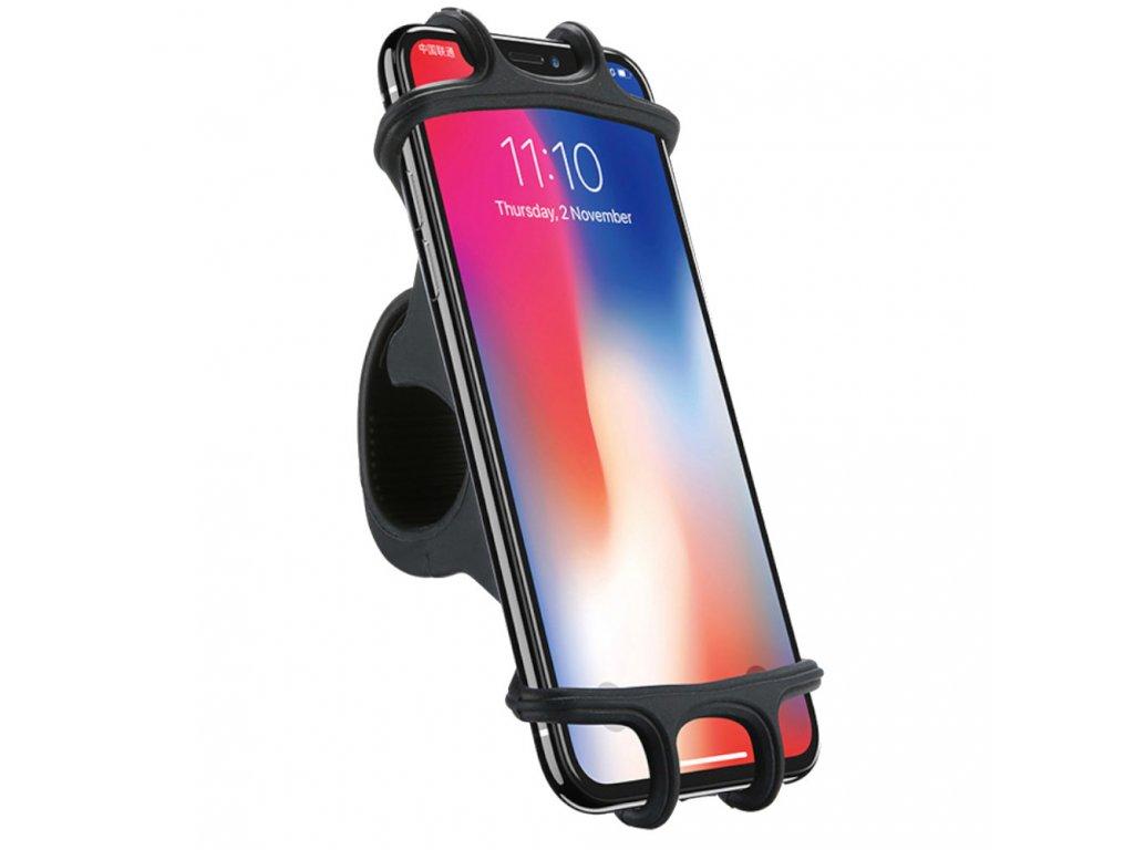 drzak na mobil ze silikonu na kolo motocykl kocarek