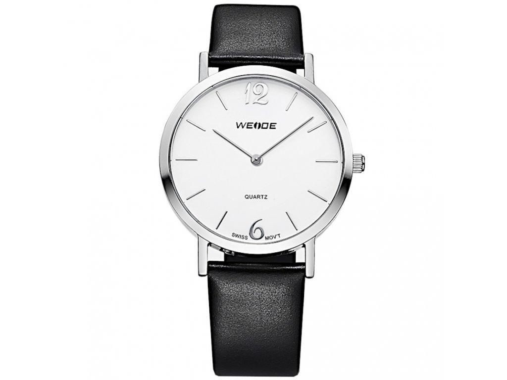 damske elegantni hodinky weide s kozenym reminkem