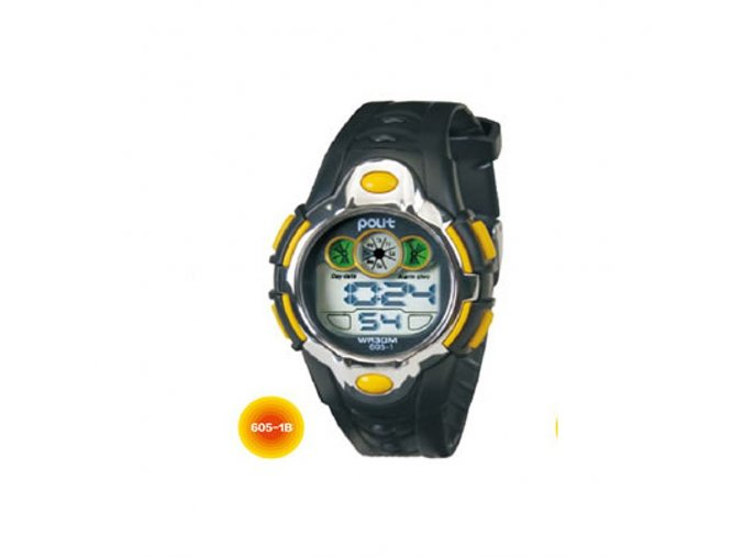 Pánské hodinky Polit Box 605-1b  + 100% skladem + náramek zdarma