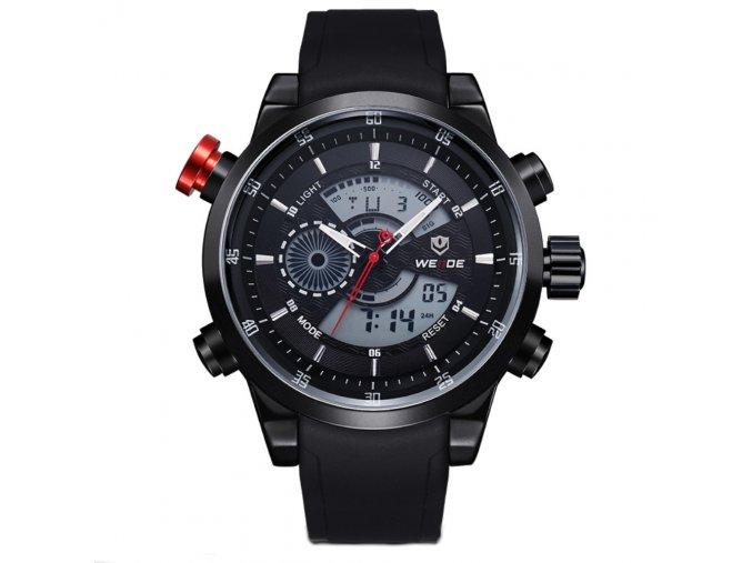 panske sportovni hodinky weide wh 3401 cerne