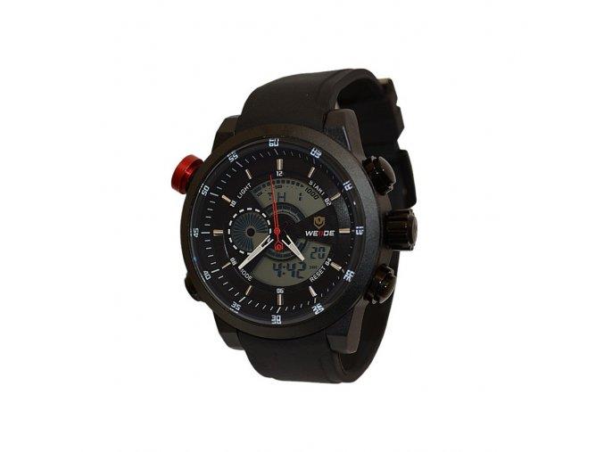 Pánské hodinky WEIDE 3401 černé  + 100% skladem