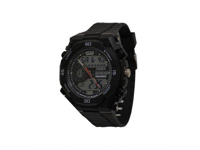 Pánské hodinky Ohsen černé 2812  + 100% skladem + doprava zdarma