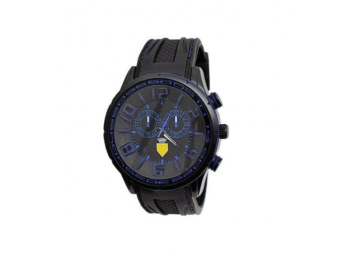 Pánské hodinky 3D modré  + 100% skladem + doprava zdarma