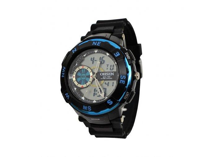 Pánské hodinky Ohsen 1312 modré  + 100% skladem + doprava zdarma