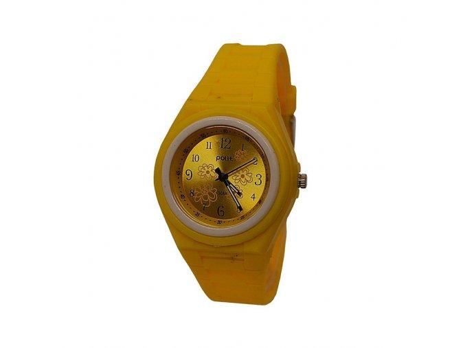 Dětské hodinky Polit 918 žluté  + 100% skladem