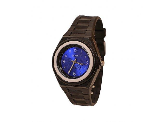Dětské hodinky Polit 918 černo-modré  + 100% skladem