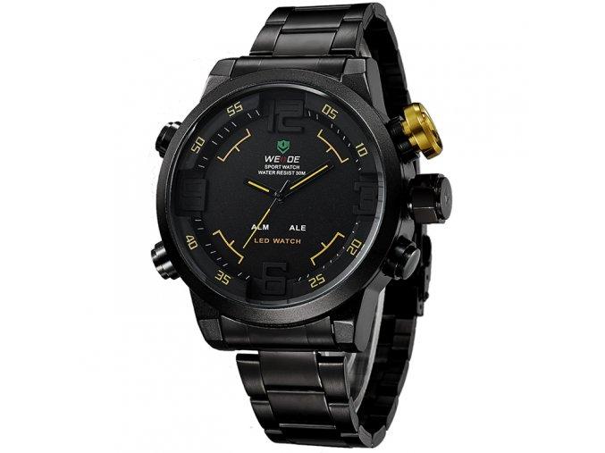 panske hodinky wide wh 2309 zlute