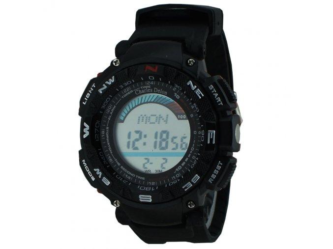 retro panske hodinky charles delon digital cheap