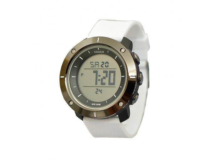 Značkové hodinky Ohsen 1611-W  + 100% skladem + doprava zdarma