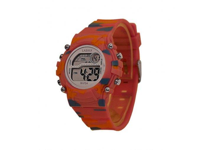 Dětské hodinky LASIKA army růžové  + 100% skladem