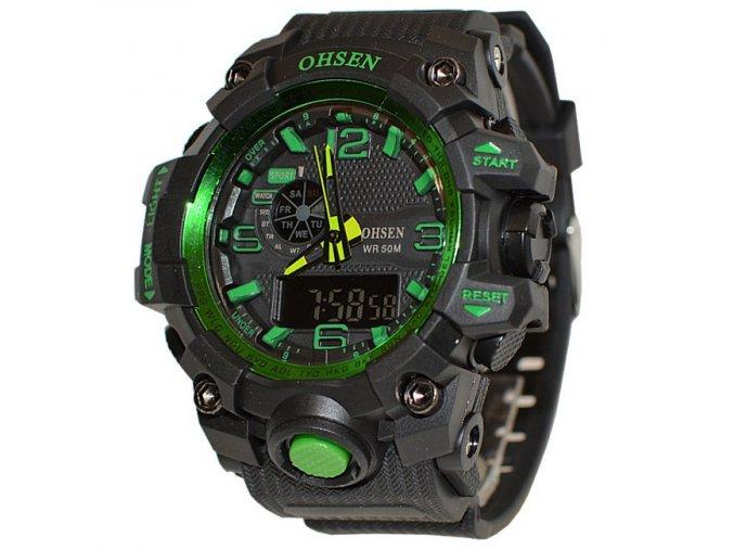 hodinky ohsen 1606 zelené