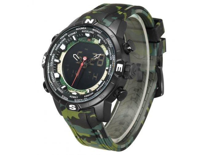 Vojenské hodinky WEIDE 6310  + 100% skladem + doprava zdarma