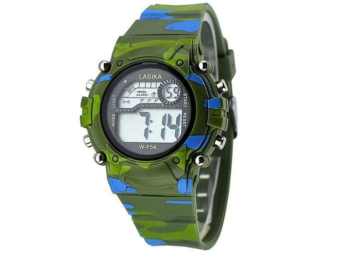 Dětské hodinky Lasika zelené khaki