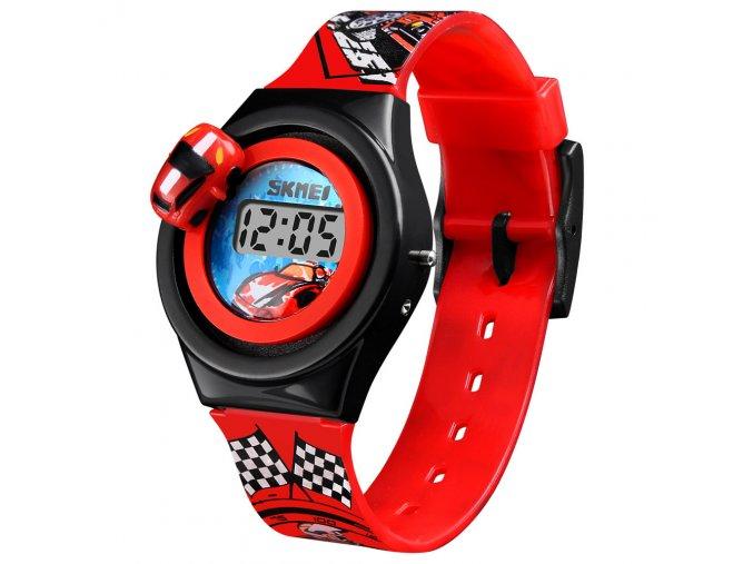 detske hodinky skmei 1376 cervene