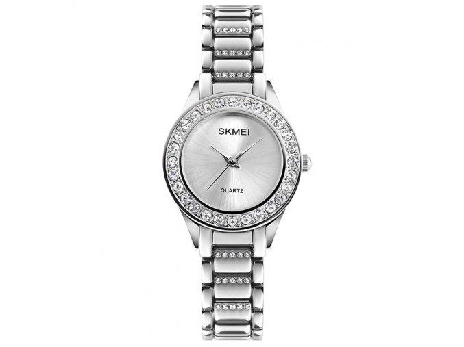 damske luxusni hodinky skmei 1262 stribrne