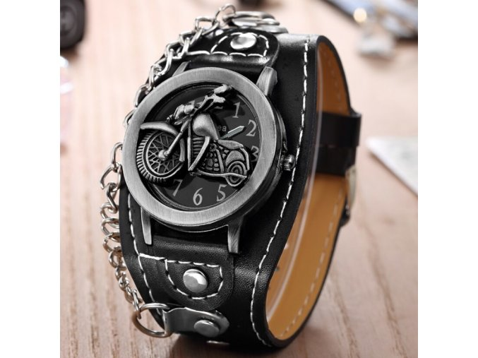 motorkarske hodinky pro motorkare chopper