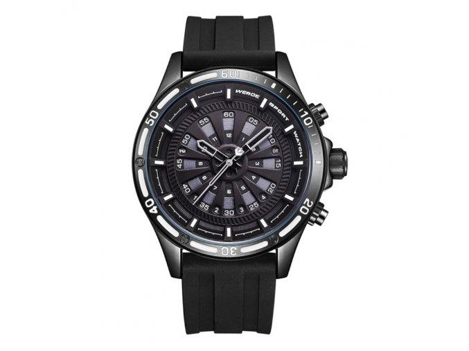 panske hodinky weide wh 7308 b 1c ze silikonovym reminkem japonskym strojkem