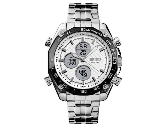panske hodinky skmei 1302 bile