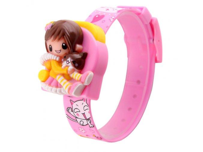 detske digitalni hodinky designove pro deti ruzove 1240 2