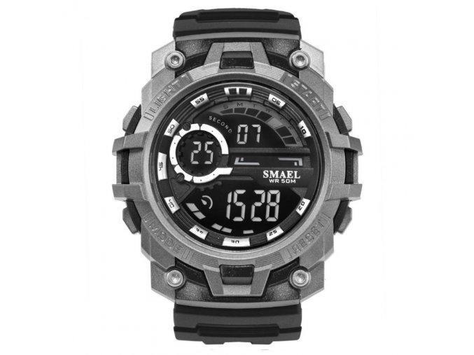 panske sportovni digitalni hodinky smael 1701 cerne