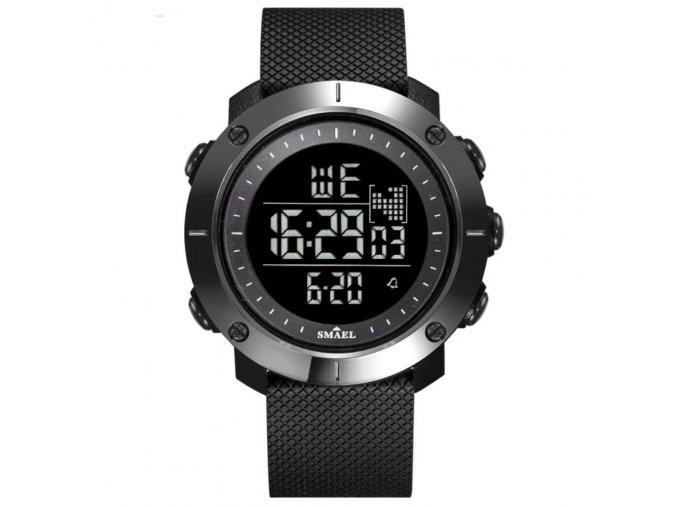 panske damske digitalni hodinky smael 1711 cerne