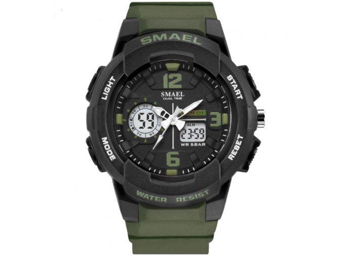 panske sportovni digitalni hodinky smael 1645 army