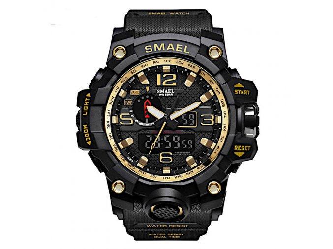 panske digitlni sportovni hodinky s dualnim casem 1545