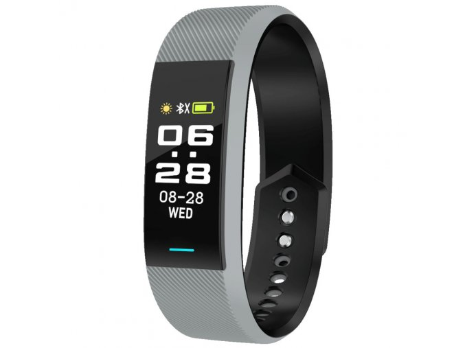 chytry naramek s tlakomerem krokomerem s propojenim s telefonem smart hodinky sede