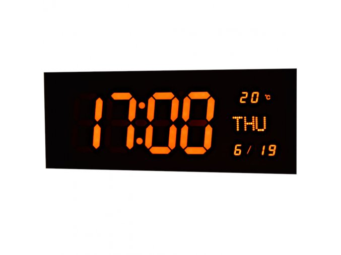 LED digitalni nastenne velkoformatove hodiny na zaveseni na zed 3799