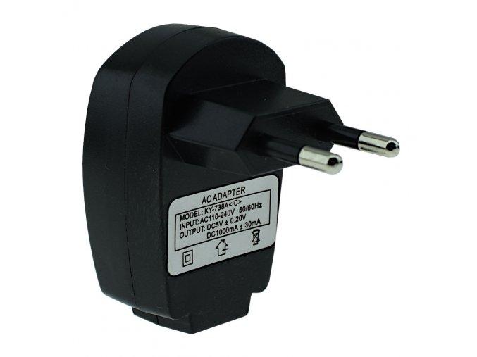 Adapter trafo transformator 220 V pro USB 5 V