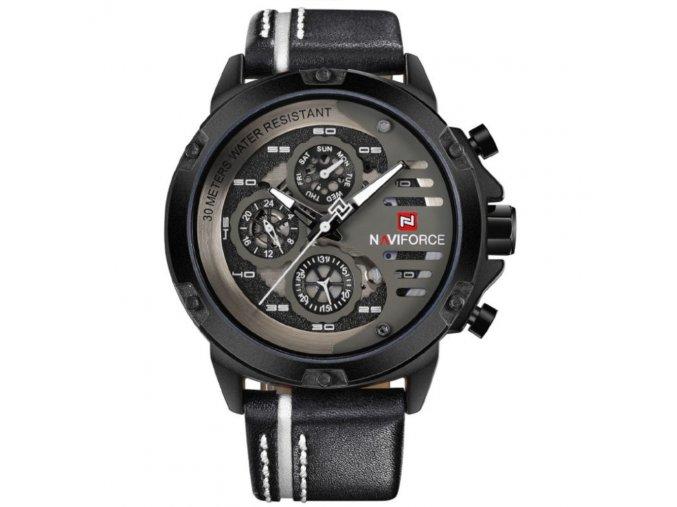 panske hodinky rucickove naviforce 9110 white
