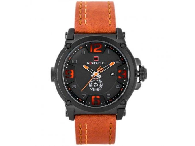 panske hodinky rucickove naviforce 9099 orang