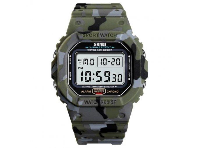 hodinky skmei army vojenske 1471 skmei iluminate