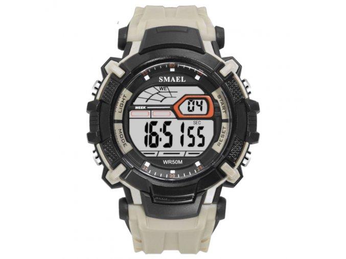 digitalni hodinky smael 1620 khaki