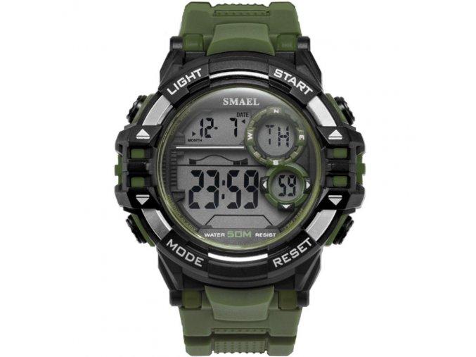 digitalni hodinky smael 1515 khaki