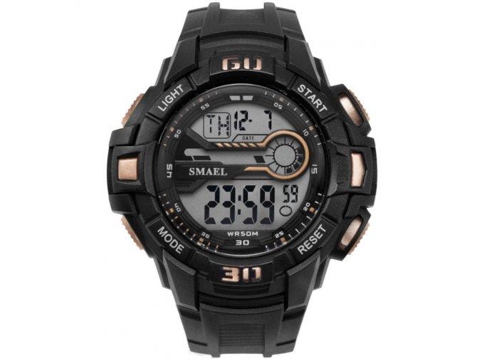 digitalni hodinky 1513 zlate smael