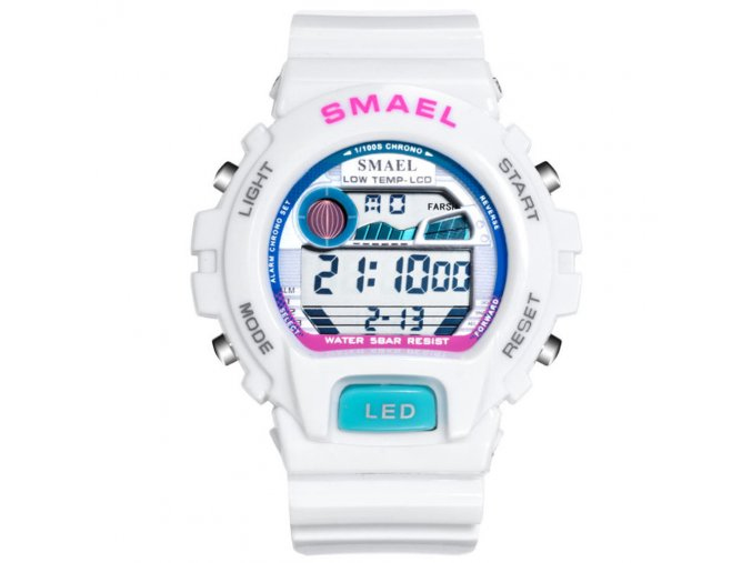digitalni hodinky smael 0931 bile (1)