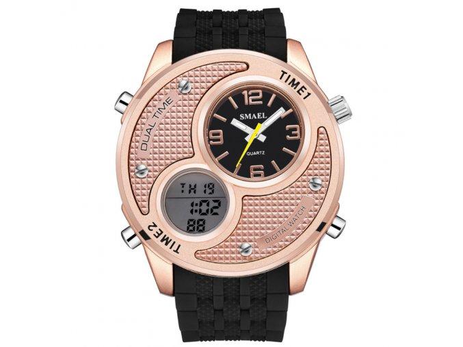 hip hop hodinky s velkym obrovskym cifernikem 1199 zlate