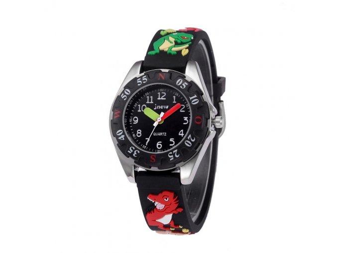 detske hodinky jnew s 3d reminkem barevne cerne drak 86172 1