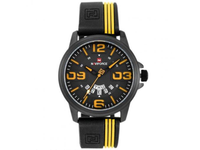 panske hodinky NAVIFORCE NF9123 zn067c black yellow 9328 2 hlavni
