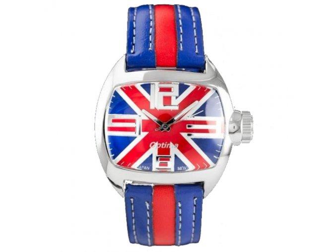 panske damske hodinky s anglickou vlajkou new england british na ciferniku hlavni
