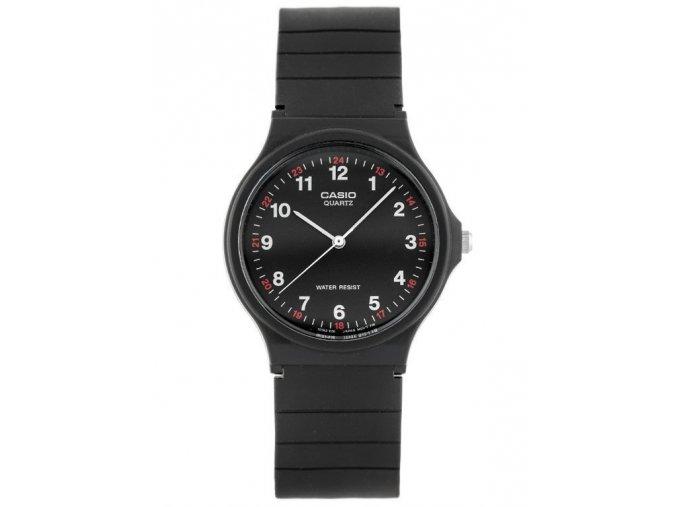 panske damske levne hodinky CASIO mq 24 1 cerne
