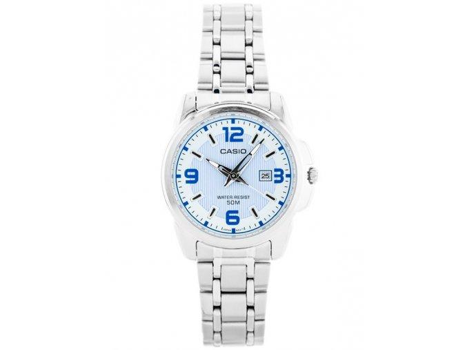 damske hodinky CASIO LTP 1314D 2AV s kovovym reminkem
