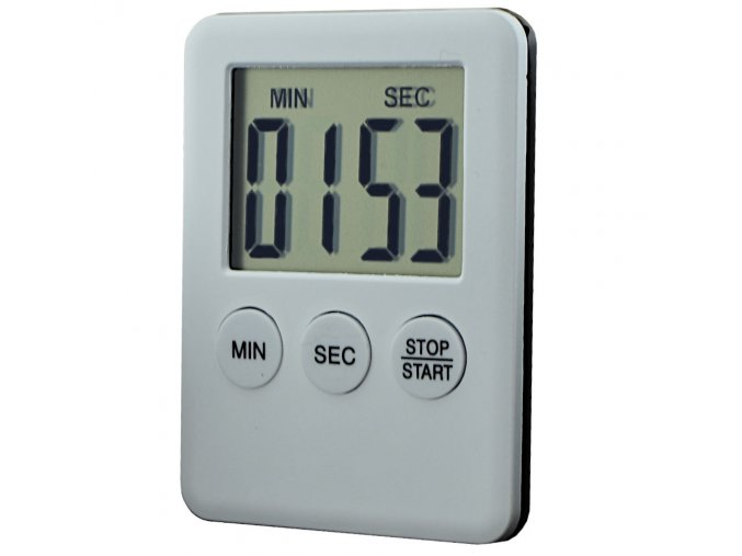 digitalni minutka kuchynska s magnetem na lednici
