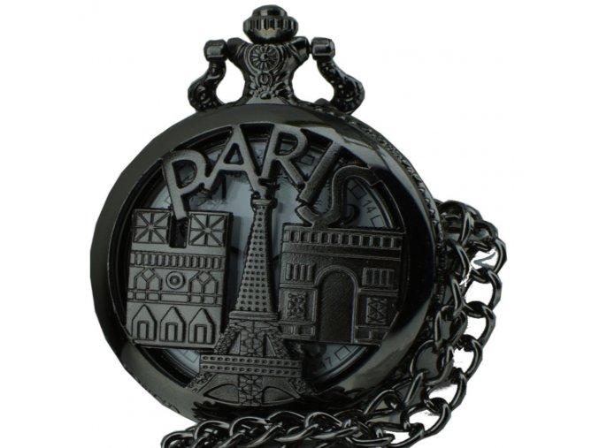 kapesni hodinky na retizku do kapsy paris