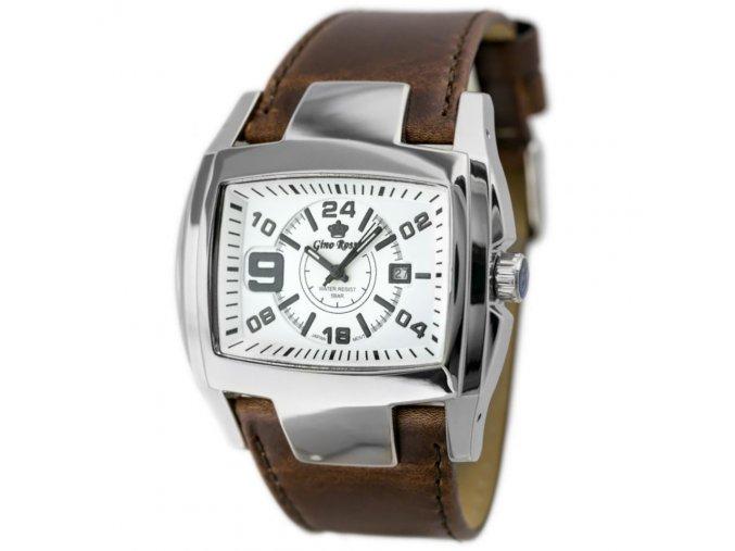 panske hodinky gino rossi rocky zq057i white