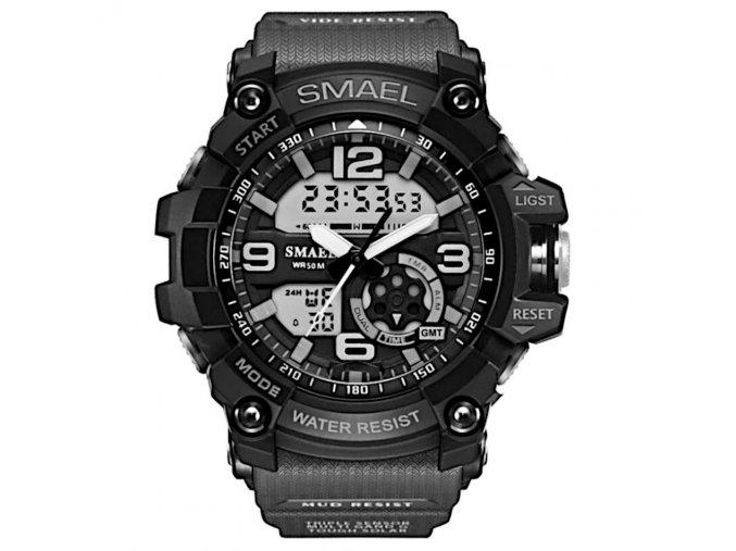 digitalni hodinky s dualnim casem smael 1350 cerne