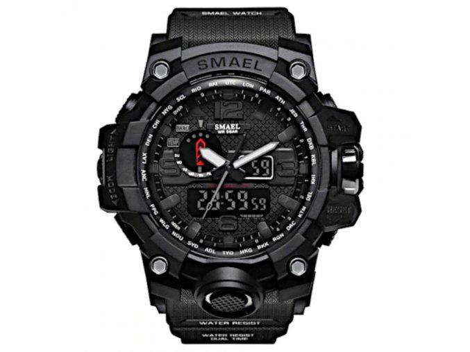 digitalni hodinky s dualnim casem smael 1545 cerne